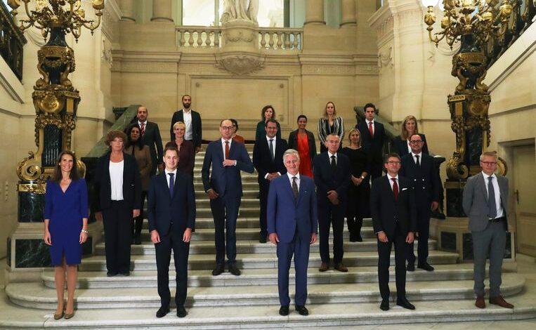 حكومة بلجيكا الجديدة
