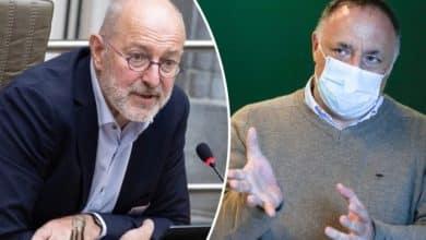"""صورة علماء الفيروسات في بلجيكا """" إغلاق قصيرًا صارمًا لتجنب فترة شبه إغلاق أطول """""""