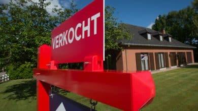 صورة قائمة بمتوسط أسعار العقارات والمنازل في عموم بلجيكا بعام 2020