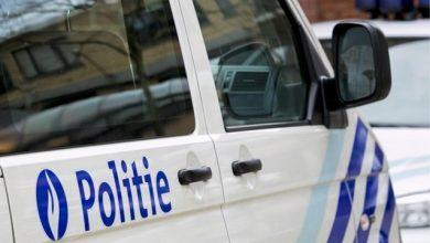 سيارة شرطة في بلجيكا
