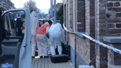 امرأة تتعرض للطعن في بلجيكا
