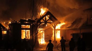حريق منزل في بلجيكا