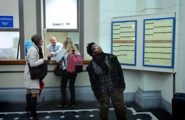 إغلاق مكاتب حجز التذاكر في بلجيكا
