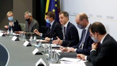 رئيس الوزراء البلجيكي يعقد مؤتمر صحفي بشأن الإجراءات الجديدة