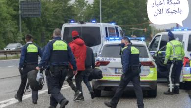 شرطة بلجيكا واللاجئين