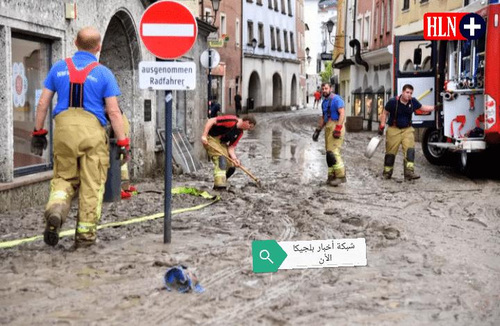 نوع التأمين في بلجيكا الذي يغطي تكاليف أضرار الفيضان والأمطار