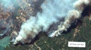 الحرائق في تركيا اليوم