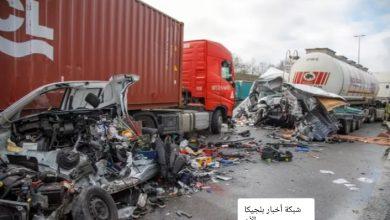 ما هو عدد وفيات حوادث الطرق في بلجيكا الان