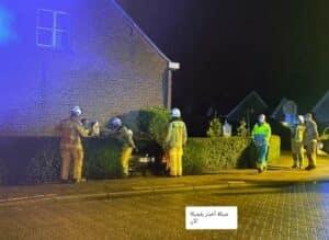 مقتل رجل في بلجيكا الان إثر اصطدام سيارة بمنزله أثناء نومه