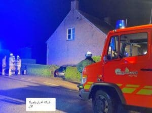مقتل رجل في بلجيكا قبل قليل مباشر إثر اصطدام سيارة بمنزله أثناء نومه