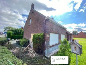 مقتل رجل في بلجيكا قبل قليل إثر اصطدام سيارة بمنزله