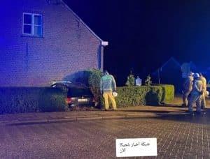 مقتل رجل في بلجيكا اليوم إثر اصطدام سيارة بمنزله أثناء نومه