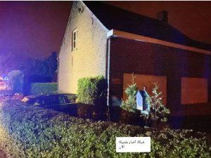 مقتل رجل في بلجيكا مباشر إثر اصطدام سيارة بمنزله أثناء نومه