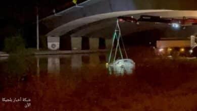 بلجيكا .. العثور على سيارة بها جثة في قناة مائية بالصدفة
