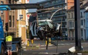بلجيكا ..اصابة ضابطان بجراح خطيرة بعد تعرضهما لحادث خطير