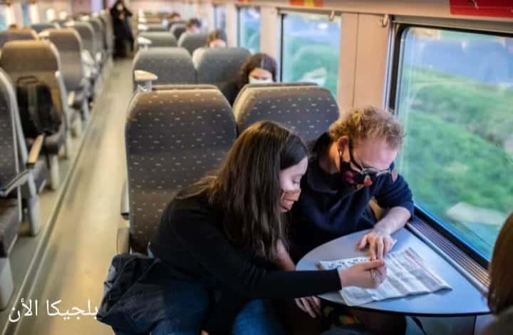 اشتراك قطار خاص للعاملين عن بعد في بلجيكا
