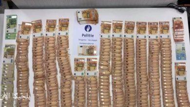 الشرطة البلجيكية تقوم بمصادرة مبلغ 28 ألف يورو نقدًا من سائق شاحنة