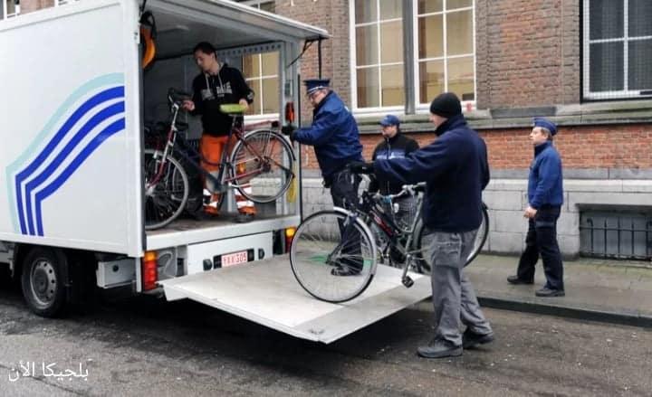 قريباً غرامة 250 يورو لسارقي الدراجات في بلجيكا