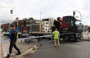 اصابة امرأة بالغة من العمر 49 عام بجروح خطيرة بسبب حادث في مدينة أنتويرب
