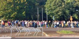 جامعة كورتريك في حالة إغلاق تام بعد الإبلاغ عن شخص مسلح