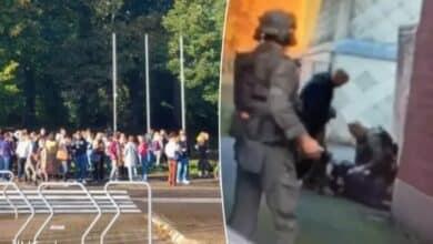 اعتقال الشاب المسلح في مدينة أفيلخيم البلجيكية