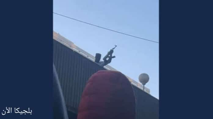 الشرطة الفيديرالية تفتح تحقيق بسبب فيديو يظهر رجل يطلق النار بكلاشينكوف