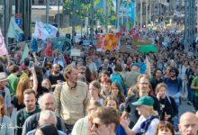 مسيرة المناخ في بروكسل ... من المتوقع وصول 30 ألف متظاهر للمناخ