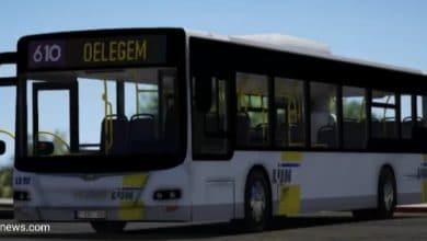 إصابة امرأة بجروح خطيرة بعد نزولها من الحافلة في بلجيكا