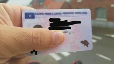 هل يحق تبديل رخصتي العربية في بلجيكا