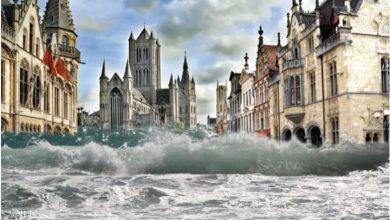 القسم الفلماني في بلجيكا سيصبح تحت مستوى سطح البحر قريبا