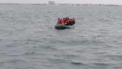 البحث عن قارب به 25 لاجئًا في بحر الشمال في بلجيكا